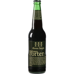 Photo of Three Boys Brewery Porter Beer 500ml