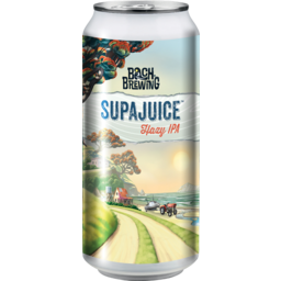 Photo of Bach Brewing Supa Juice Hazy IPA 440ml