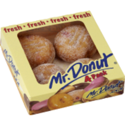 Photo of Mr Donut Jam Ball Donuts 4pk