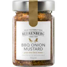 Photo of Beerenberg BBQ Onion Mustard 165g
