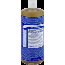 Photo of Dr Bronner's Pure-Castile Liquid Soap - Peppermint