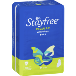 Photo of Stayfree Regular Wings 14 Pads