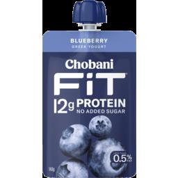 Photo of Chobani Fit Greek Yogurt Blueberry 140g