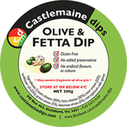 Photo of Castlemaine Dip Olive & Fetta 200gm
