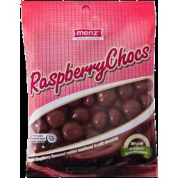 Photo of Menz Raspberry Chocs 350g