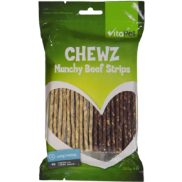 Photo of Vitapet Munchy Beef Strips 200g