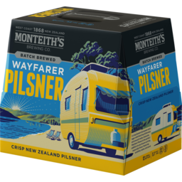 Photo of Monteiths Beer Wayfarer Pilsner Bottle 12x330ml