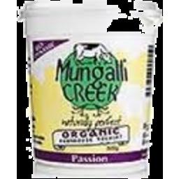 Photo of Mungalli Creek - Yoghurt - Passionfruit - 500g