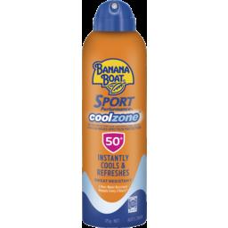 Photo of Banana Boat Cool Zone Sunscreen Spray Spf 50+ 175g