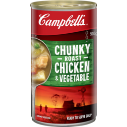 Photo of Campbells Soup Chunky Roast Chicken & Vegetable 505g
