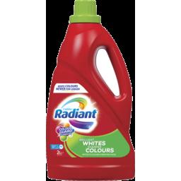 Photo of Radiant Brilliant Whites Sharper Colours Laundry Liquid 2lt
