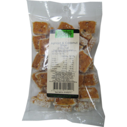 Photo of The Market Grocer Apricot Coconut Slice 250g
