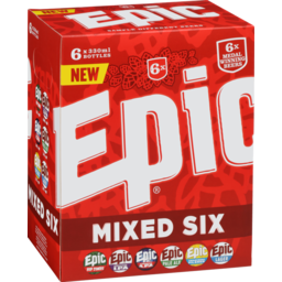 Photo of Epic Mixed Six 6 x 330ml Bottles