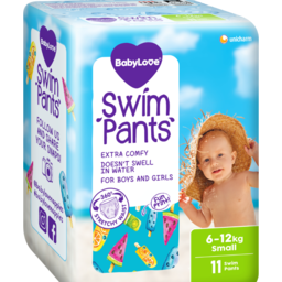 Photo of Babylove Swim Pants Small 6-12Kg  11 Pack