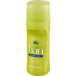 Photo of Ban Roll-On Powder Fresh Antiperspirant Deodorant