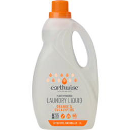 Photo of Earthwise - Laundry Liquid Orange & Eucalyptus