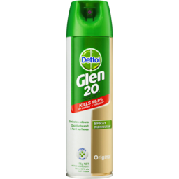Photo of Dettol Glen 20 Disinfectant Spray Original Aerosol Eliminate Odour 175gm