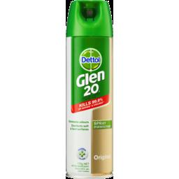 Photo of Dettol Glen 20 Disinfectant Spray Original Aerosol Eliminate Odour 175g