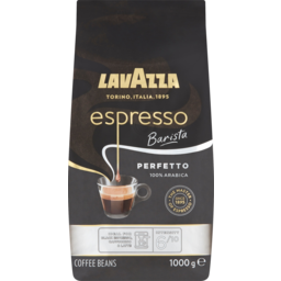 Photo of Lavazza Espresso Barista Perfetto 100% Arabica Coffee Beans 1kg