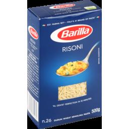 Photo of Barilla Risoni Pasta 500g