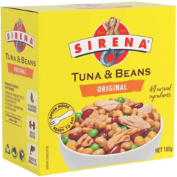 Photo of Sirena Tuna Beans Boxed 185gm