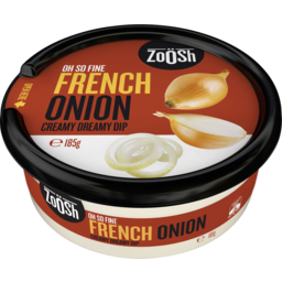 Photo of Zoosh French Onion Creamy Dreamy Dip 185g