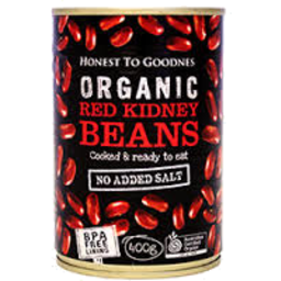 Photo of Honest To Goodness Organic Red Kidney Beans 400gm