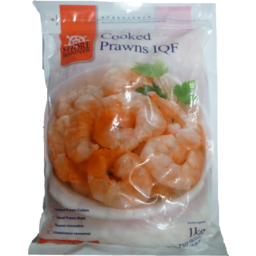 Photo of Shore Mariner Cooked Prawns IQF 1kg