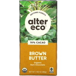 Photo of Alter Eco Chocolate Brown Butter 80g