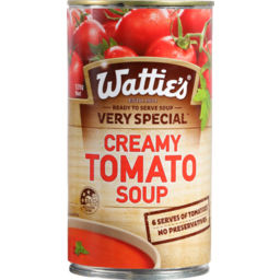 Photo of Wattie's Very Special Soup Creamy Tomato 535g