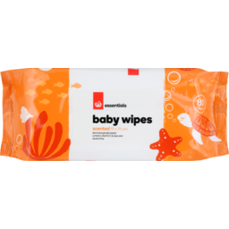 Photo of Homebrand Baby Wipes Scented 80 Pack