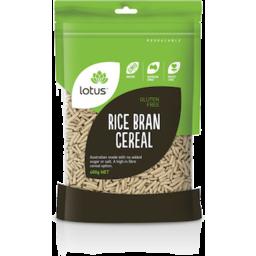 Photo of Lotus Rice Bran Cereal 400gm