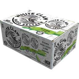 Photo of White Claw Hard Seltzer Natural Lime Can