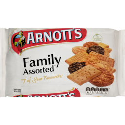 Photo of Arnotts Biscuits Family Assorted 500g