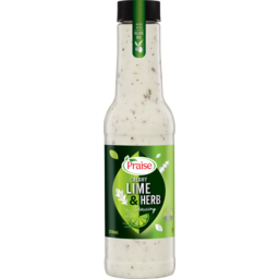 Photo of Praise Creamy Lime & Herb Dressing 250ml