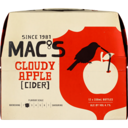 Photo of Mac's Cloudy Apple Cider 12 Pack
