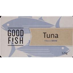Photo of Good Fish Tuna Fillets Brine 125g