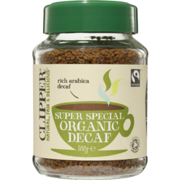 Photo of Clipper Instant Organic Decaf Coffee