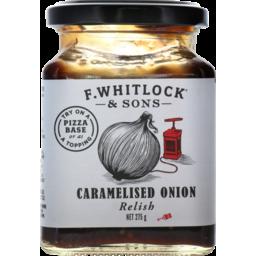 Photo of Whitlocks Chutney Caramelised Onion 275g