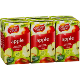 Photo of Golden Circle Apple Juice 6x200ml