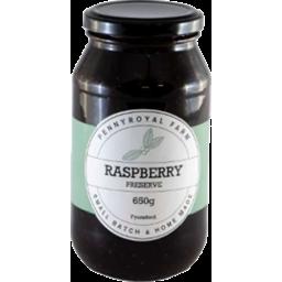 Photo of Penny Royal Farm Raspberry Jam 650g