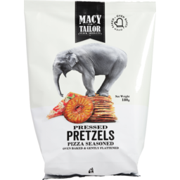 Photo of Macy And Tailor Pressed Pretzels Pizza Seasoned 180g