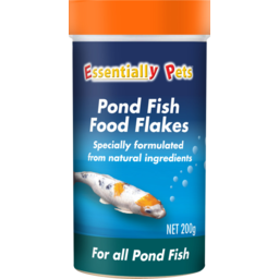 Photo of Essentially Pets Pond Fish Food Flakes For All Pond Fish 200g