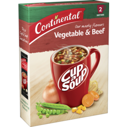 Photo of Continental Cup A Soup Hearty Vegetable & Beef 2 Serves 65g
