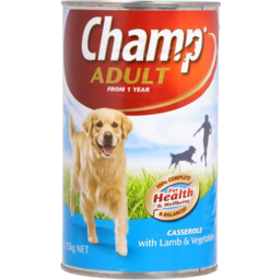 Photo of Champ Adult Dog Food Lamb & Vegetable 1.15kg