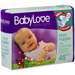 Photo of Babylove Bulk Infant 48