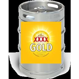 Photo of XXXX Gold Keg 49.5l
