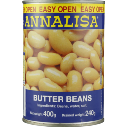 Photo of Annalisa Lima Beans 400gm