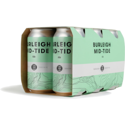 Photo of Burleigh Brewing Co. Mid-Tide Ale Cans