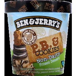Photo of Ben & Jerry'S Non-Dairy Frozen Dessert Peanut Butter & Cookies 458.000 Ml